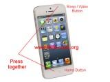 hard reset iphone5