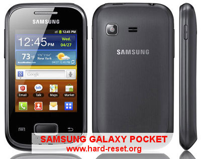 How to Easily Master Format SAMSUNG GALAXY POCKET GT-S5300 & POCKET