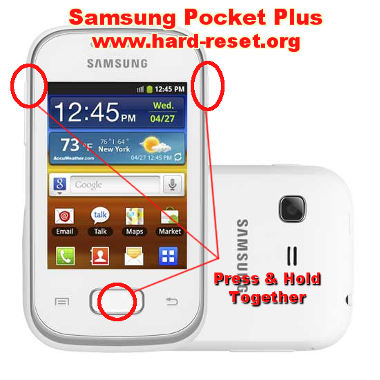 How to Easily Master Format SAMSUNG GALAXY POCKET PLUS GT-S5301 with