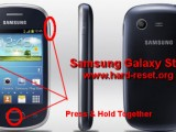hard reset samsung galaxy star