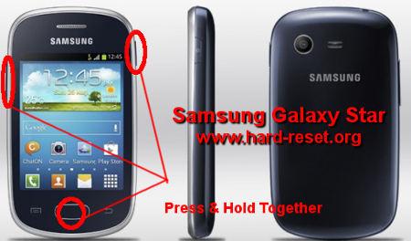 Start Galaxy S7262 root