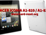 hard reset acer iconia a1 810