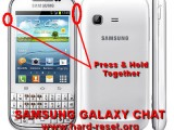 hard reset samsung galaxy chat