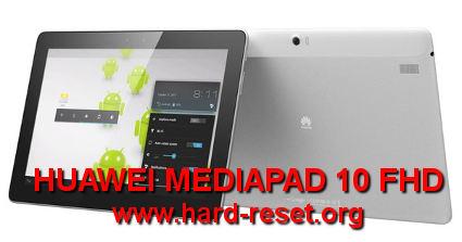 Как сделать hard reset huawei mediapad fhd