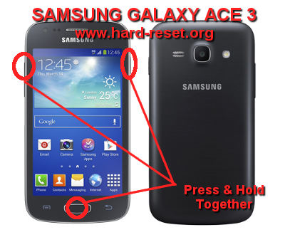 How to Easily Master Format SAMSUNG GALAXY ACE 3 GT-S7270