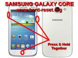 hard reset samsung galaxy core