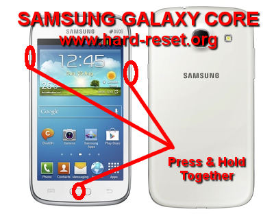 How to Easily Master Format SAMSUNG GALAXY CORE GT-I8260 / GT-I8262
