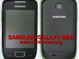 hard reset samsung galaxy mini