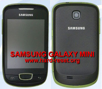 SAMSUNG GALAXY MINI GT-S5570 (Galaxy POP) with Safety Hard Reset