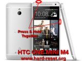 hard reset htc one mini m4