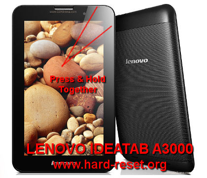How to Easily Master Format LENOVO IDEATAB A3000 with Safety Hard