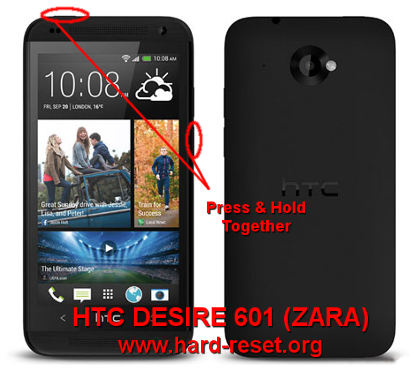 how to factory reset an htc phone