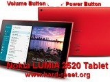 hard reset nokia lumia 2520 tablet