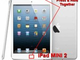 hard reset ipad mini 2 retina display