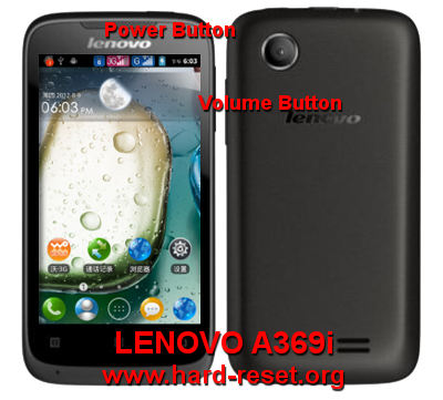 How To Easily Master Format LENOVO A369i With Safety Hard