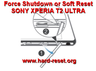 How to Easily Master Format SONY XPERIA T2 ULTRA / T2 ULTRA