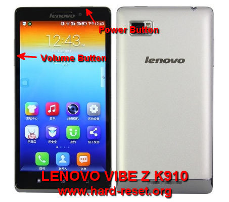 How to Easily Master Format LENOVO VIBE Z K910 with Safety