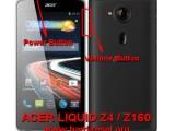 hard reset acer liquid z4 / acer z160