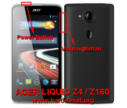 How To Easily Master Format ACER LIQUID Z4 DUO Z160