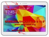 hard reset samsung galaxy tab s 10.5 inches