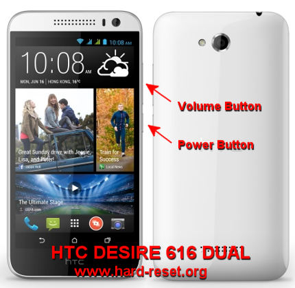 How to Easily Master Format HTC DESIRE 616 DUAL (Octa Core) with