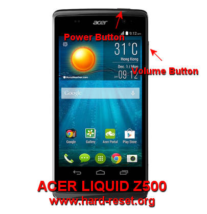 How to Easily Master Format ACER LIQUID Z500 with Safety