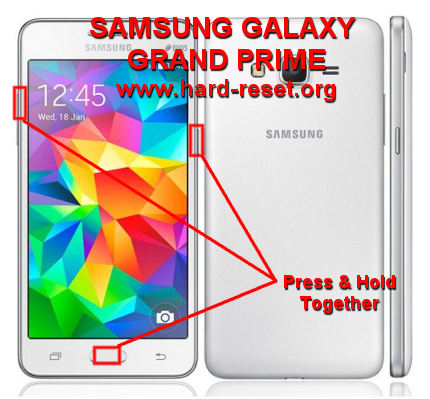 How to Easily Master Format SAMSUNG GALAXY GRAND PRIME SM-G530F / SM