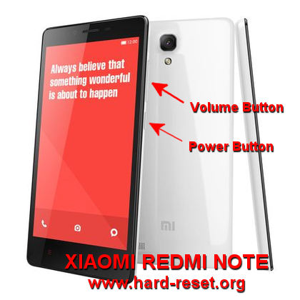 How to Easily Master Format XIAOMI REDMI NOTE / REDMI NOTE 4G