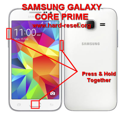 How to Easily Master Format SAMSUNG GALAXY CORE PRIME SM