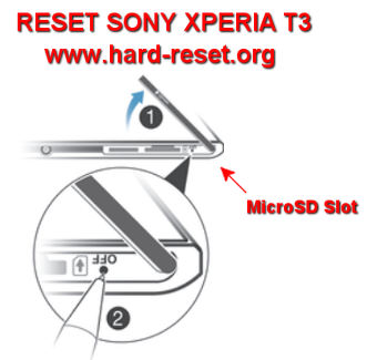 how to reset sony watch 3