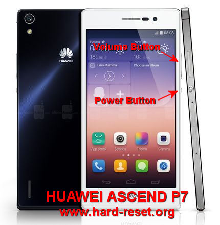 How to Easily Master Format HUAWEI ASCEND P7 (P7-L10, 01