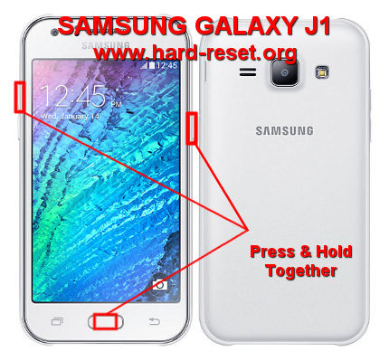 How to Easily Master Format SAMSUNG GALAXY J1 (SM-J100F/SM