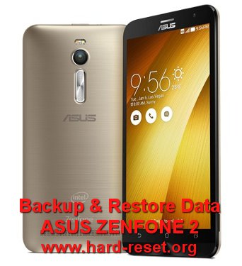 backup & restore data asus zenfone 2