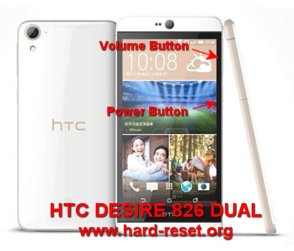 How to Easily Master Format HTC DESIRE 826 DUAL with Safety