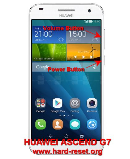 How to Easily Master Format HUAWEI ASCEND G7 (G7-L01 / G7-L03) with