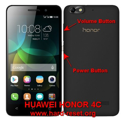 hard reset huawei honor 4c / huawei g play mini to factory default