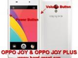 hard reset oppo joy r1001 & oppo joy plus to factory default