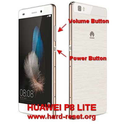 hard reset huawei p8 lite to factory default
