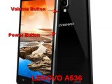 hard reset lenovo a536 to factory default