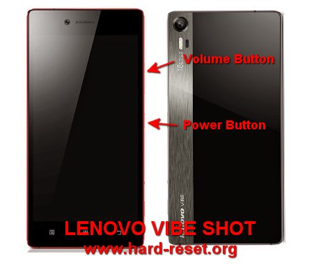 hard reset lenovo vibe shot to factory default