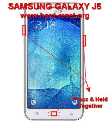 hard reset samsung galaxy j5 to factory default