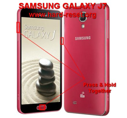 hard reset samsung galaxy j7 to factory default master format