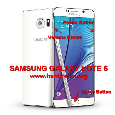How to Easily Master Format SAMSUNG GALAXY NOTE 5 (SM-N920T