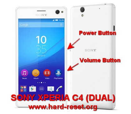 How to Easily Master Format SONY XPERIA C4 (DUAL) (E5303