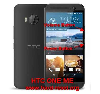 hard reset htc one me