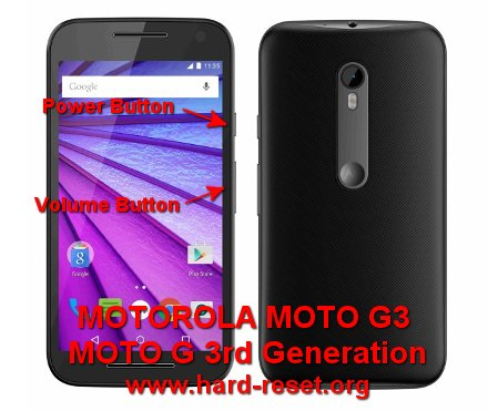 How to Easily Master Format MOTOROLA MOTO G3 (DUAL) / MOTO G 3rd GEN