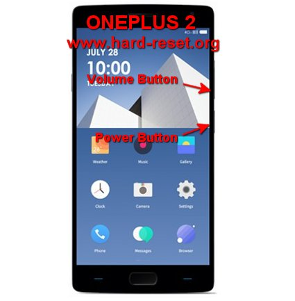hard reset oneplus two / oneplus 2