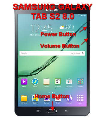 hard reset samsung galaxy tab s2 8.0 inches