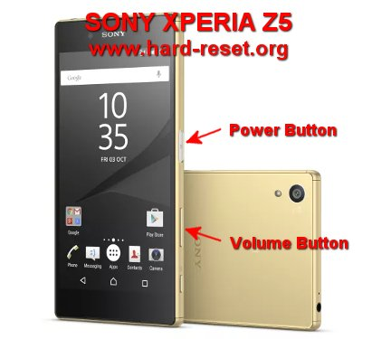 How to Easily Master Format SONY XPERIA Z5 (DUAL) (E6603