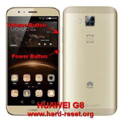 hard reset huawei g8 / g7 plus